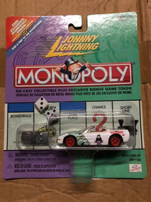 Johnny Lightning - Monopoly - Corvette Conversível