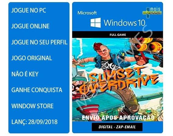 Sunset Overdrive Pc Windows 10 - Pre-order