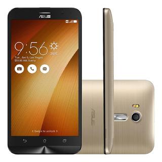 Smartphone Asus Zenfone Go Live Zb551kl 16gb Dourado Vitrine