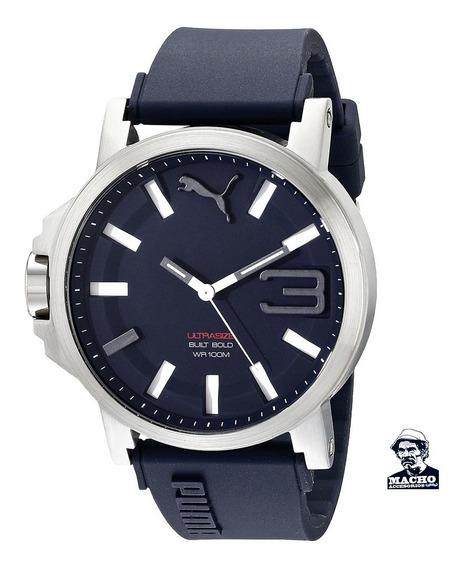 Reloj Puma Ultrasize Xl Pu103911003 En Stock Original Caja