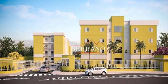 Apartamento Com 2 Dormitórios À Venda, 52 M² Por R$ 180.000,00 - Jardim Florência - Vinhedo/sp - Ap0351