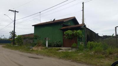 Casa Em Frente A Rodovia Lado Praia. Ref. 0619 M H