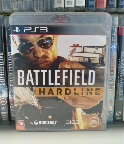 Battlefield Hardline Ps3 Bf | Parcelamento Sem Juros