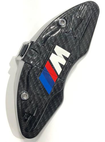 Imagem 1 de 2 de Jogo C/ 4 Capas Para Pinça De Freio - Bmw Motorsport Carbono