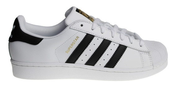 Tenis adidas Originals Superstar Concha Hombre Casual Clasico Retro Moda Urbana Piel Genuina Original