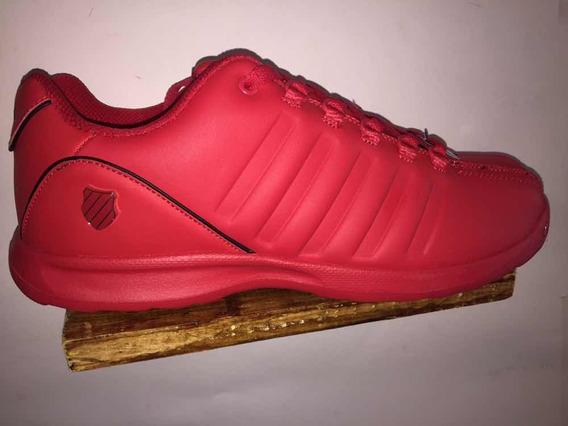 Tenis Kswiss Piel Rojos Talla 29 Cm