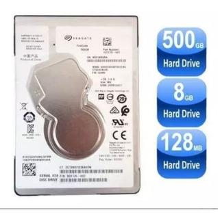 10 Hd Note 500gb Sata Seagate 2.5 Slim 7mm Ps4 X-box Novo