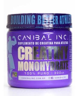 Creatiny (300g) - Canibal Inc Creatina 100% Pura