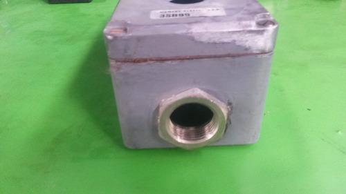 Caja Botonera Metalica 3 Huecos 16175