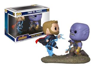 Funko Pop   Movie Moments Thor Vs Thanos 707
