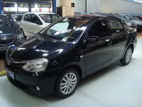 Toyota Etios Sedán Xls 1.5 Flex 2013 Preto (completo+ Couro)