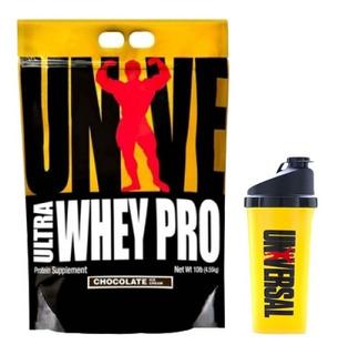 Universal Ultra Whey Pro 10lb + Vaso Pura Proteina Importada