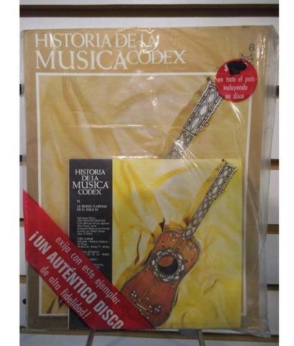 Historia De La Musica Codex 06 Fasiculo Y Disco Lp Acetato