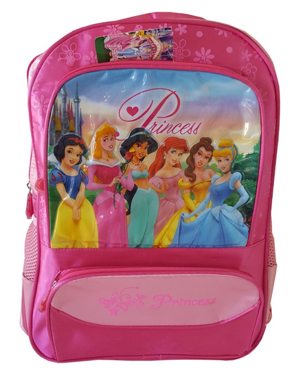 Bolso Princesas Disney Mod F215g 17 Con Relieve