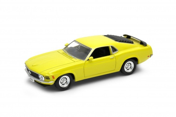Auto De Coleccion Ford Mustang Welly Escala 1/36