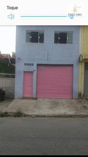 Salão À Venda, 60 M² Por R$ 300.000,00 - Parque Continental Ii - Guarulhos/sp - Sl0682