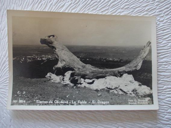 8672- Antigua Postal Cordoba, La Falda, El Dragon Bourquin