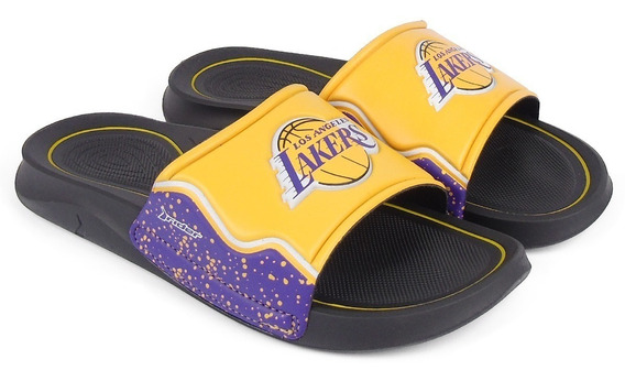 Chinelo Masculino Rider Basquete Nba Los Angeles Lakers
