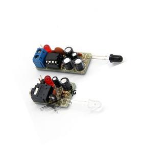Kit Montar Placa Transmissão Áudio Sem Fio Infravermelho Diy