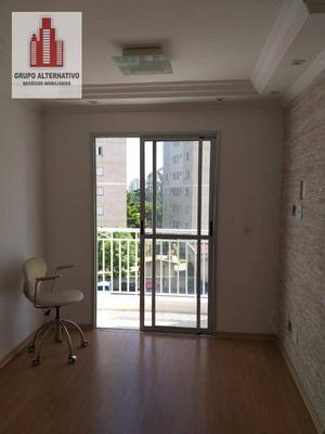 Apartamento Com 2 Dormitórios À Venda, 50 M² Por R$ 303.000 - Tatuapé - São Paulo/sp - Ap1044