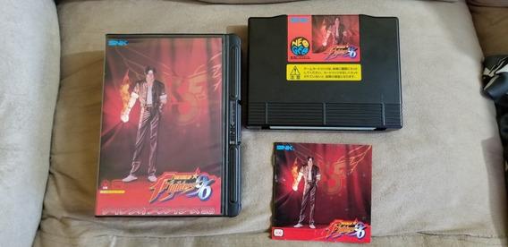 Kof 96 Original Japonês Neo Geo Aes.