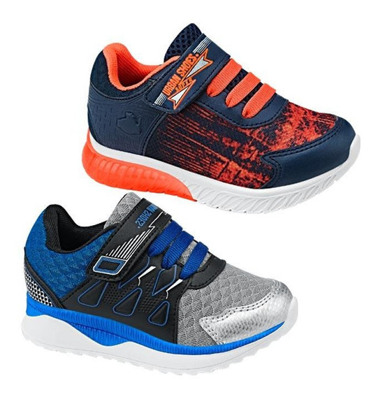 Tenis Junior Kit 2 Pares Urban Shoes 829757