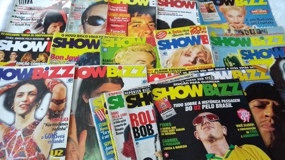 Show Bizz Lote Com 19 Revistas Variadas Em Oferta
