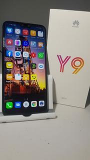 Celular Huawei Y9 2019 64gb Negro Más Regalos