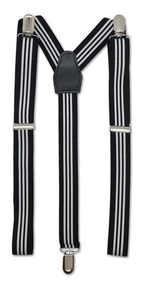 Tiradores Rayados Para Pantalon Hombre Mujer De Vestir