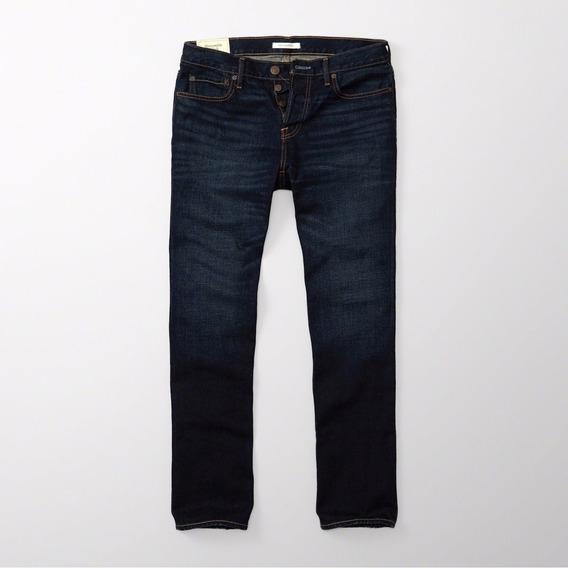 Pantalon Jean Abercrombie & Fitch Talla 34 X 34 Classic