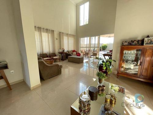 Casa Com 3 Dormitórios À Venda, 413 M² Por R$ 1.710.000,00 - Condomínio Guaporé - Ribeirão Preto/sp - Ca1987