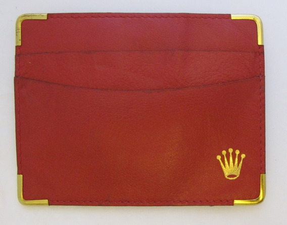 Cartera Tarjetero Original Rolex Switzerlan Code 0101.60.05