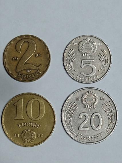 Lore Monedas De Hungría,2-5-10-20-forint