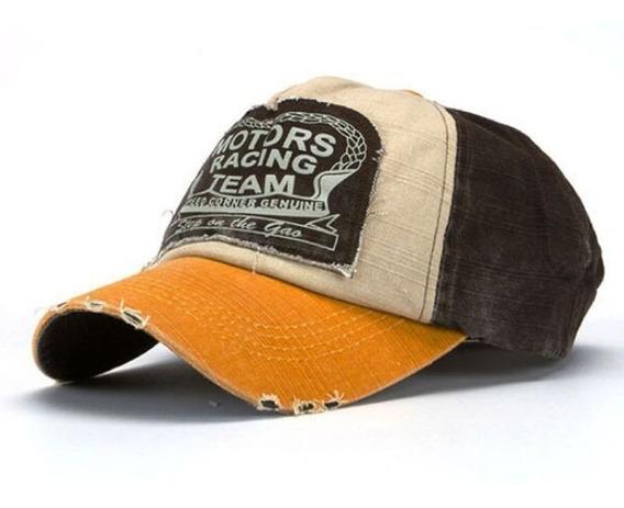 Gorras Caps Motors Racing Retro Gastadas Importadas Con Logo