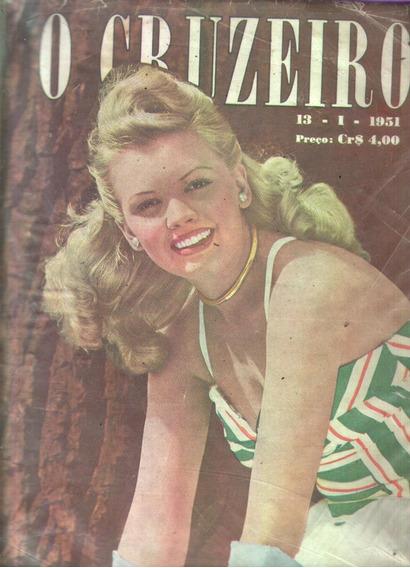 O Cruzeiro 1951.porto De Santos.cachoeira.tragedia Na Serra