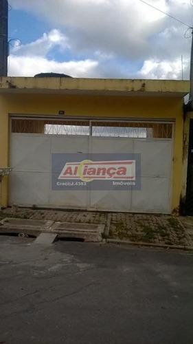 Sobrado Residencial À Venda, Jardim Fortaleza, Guarulhos. So0467 - Ai2162