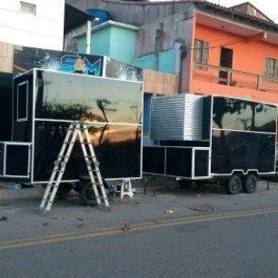 Fabricação De Trailer Food Truck Trailer Turismo E Motorhome