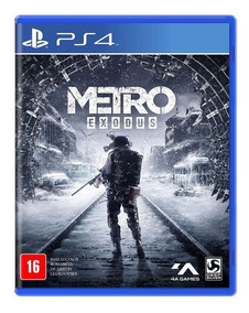 Metro Exodus Ps4 Playstation Mídia Física
