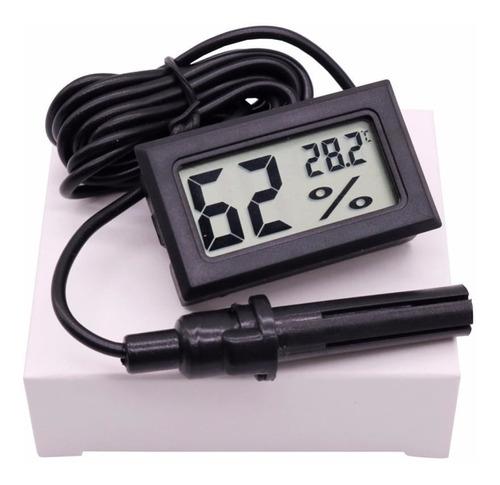 Termometro Higrometro Temperatura Medidor Humedad Incubadora