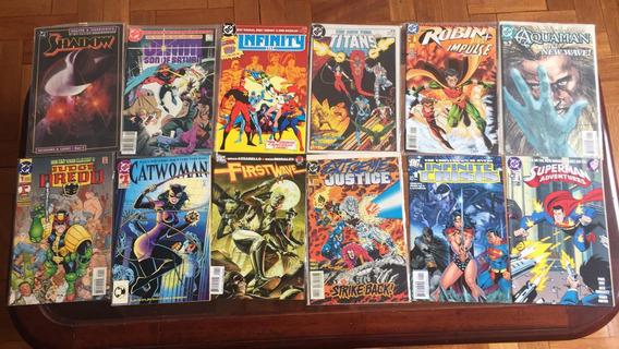 Batman Superman Mulher Maravilha Flash Lote 130 N# 1s Eua