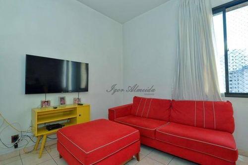 Imagem 1 de 24 de Cobertura Com 3 Dormitórios À Venda, 110 M² Por R$ 585.000,00 - Cerqueira César - São Paulo/sp - Co1320