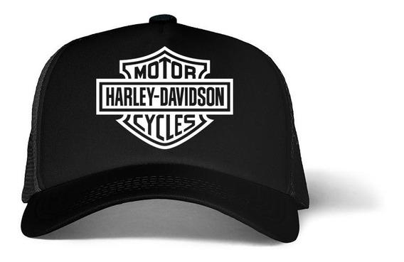 Gorra Trucker Tipo Harley Davidson