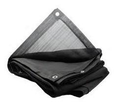 Malla Sombra 3mts X 3.6 Mts Color Negro 80% Sombra