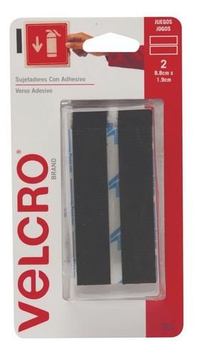 Imagen 1 de 7 de Abrojo Velcro Autoadhesivo 2 Tiras Uso General Soporta 2 Kg