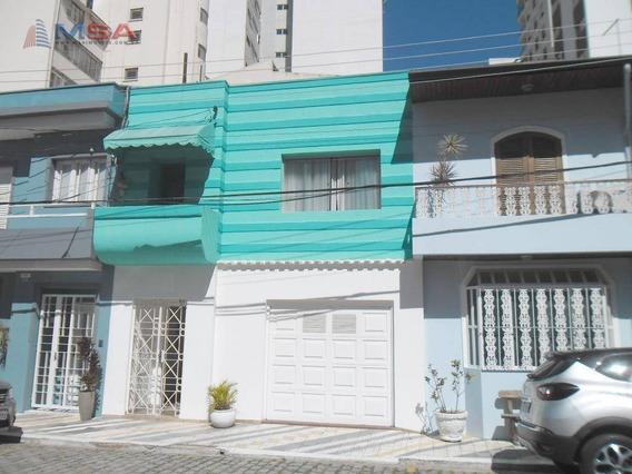 Casa De Vila Na Santa Cecília, Com 135,0m2, 4 Dormitórios, Sendo 2 Suítes E 2 Vagas De Garagem. - Ca0906