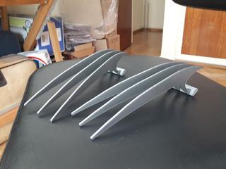 Garras Wolverine X Men Guepardo Tamaño Real Plastico 22 Cm