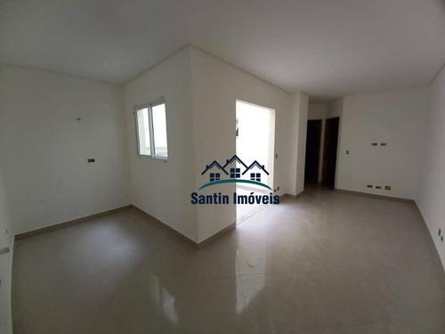 Apartamento Com 2 Dormitórios À Venda, 56 M²  - Parque Novo Oratório - Santo André/sp - Ap1826