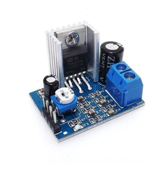 Módulo Amplificador De Som Tda2030 Arduino Pic