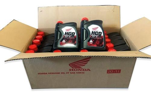 Aceite Honda Hgo 4t 10w 30 Mineral Caja X 20 6 Cuotas