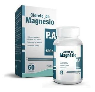 Cloreto De Magnésio P.a. + Óxido De Magnésio C/ 60 Cp Imec